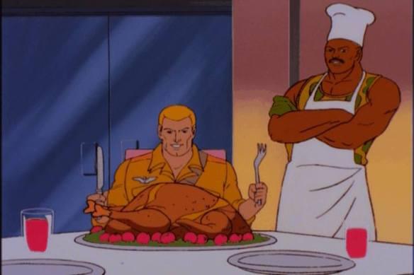 Thanksgiving Christmas G.I. Joe