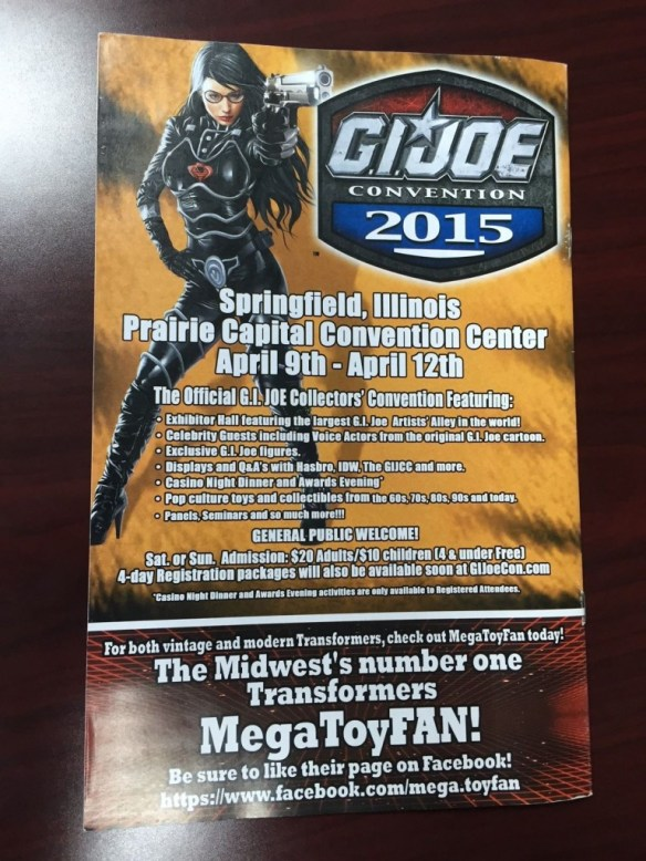 2015 Joe Con Tiger Force teaser