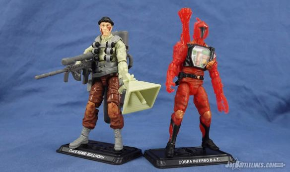 G.I. Joe FSS 4 Bullhorn Inferno BAT