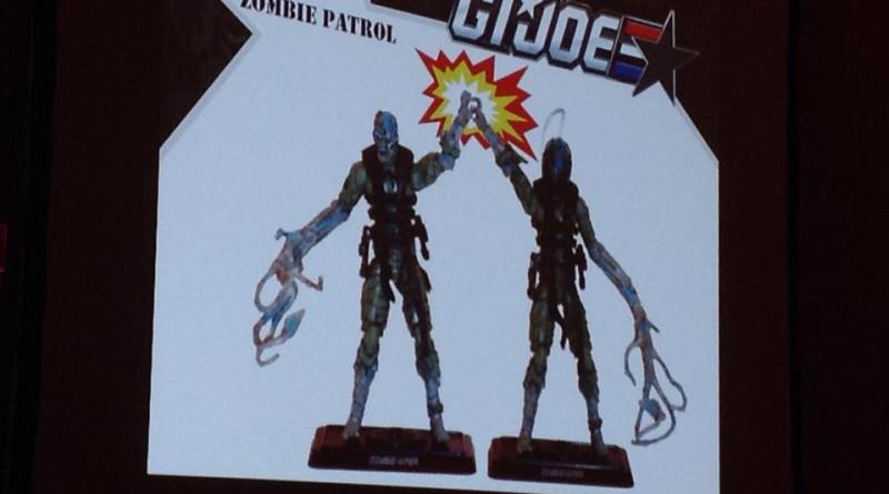 Joe con 2016 Hasbro zombie viper two pack