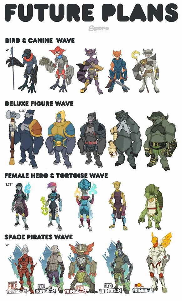Animal Warriors of the Kingdom future plans