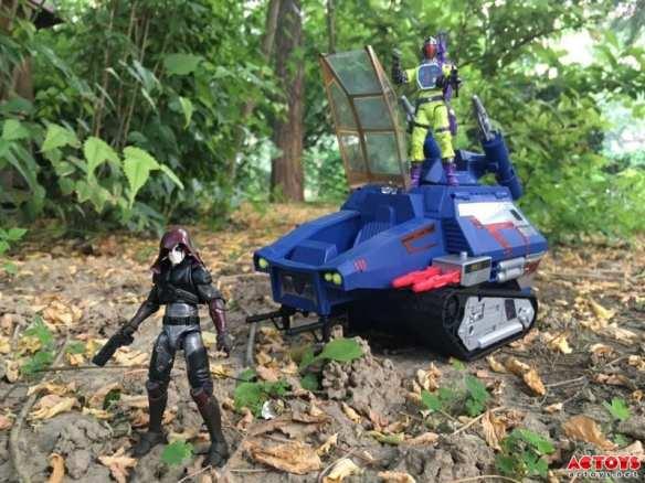 2016 SDCC G.I. Joe vs Transformers Zartan Soundwave