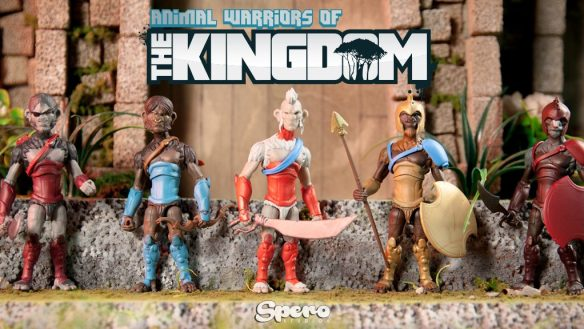 Animal Warriors of the Kingdom Kickstarter