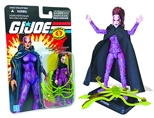 G.I. Joe Collector's Club Pythona carded
