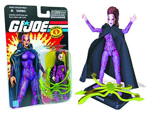 G.I. Joe Collector's Club Pythona carded