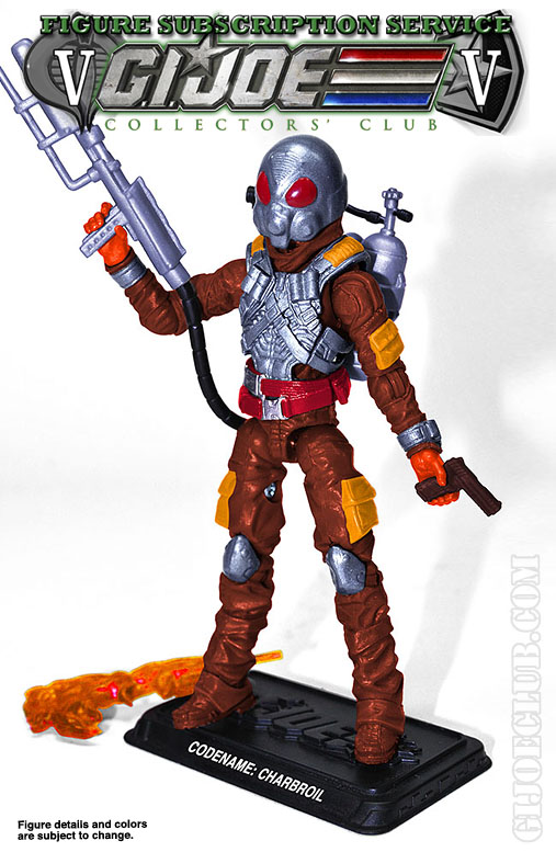 G.I. Joe FSS 5 Charbroil preview