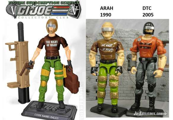 G. I. Joe FSS 5 Salvo comp