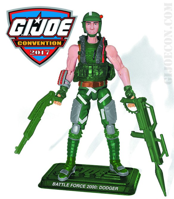 G.I. Joe Con 2017 Battle Force 2000 Dodger