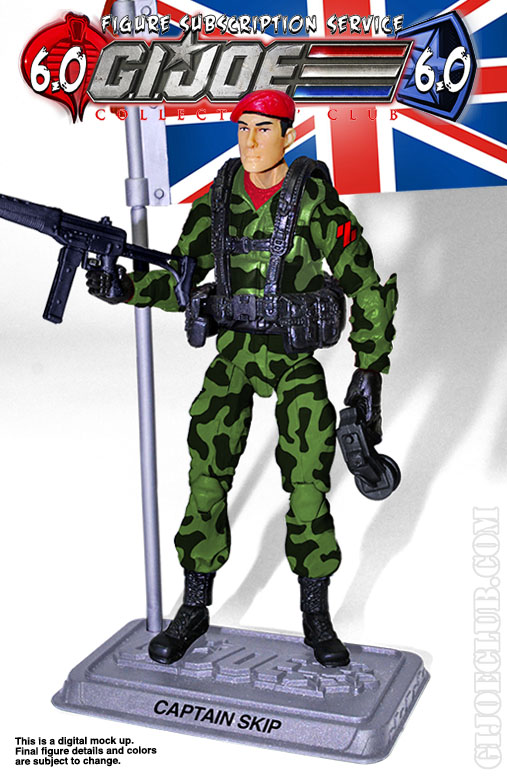 G.I. Joe FSS 6 Captain Skip