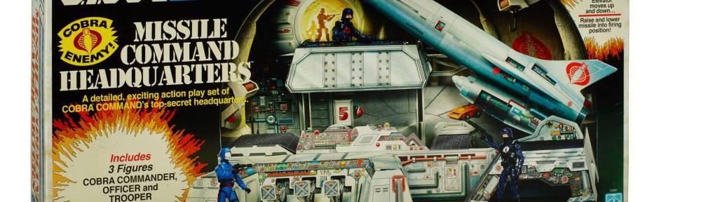 Cobra Missile Command Headquarters box front