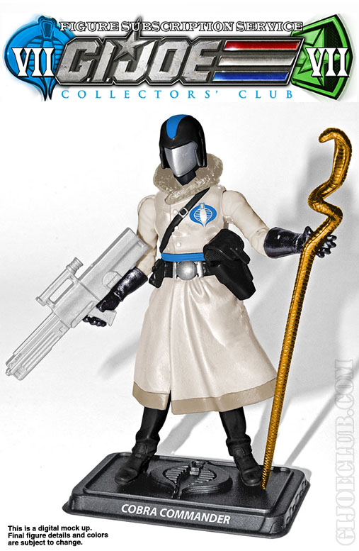 G.I. Joe Collector's Club FSS 7 Arctic Cobra Commander