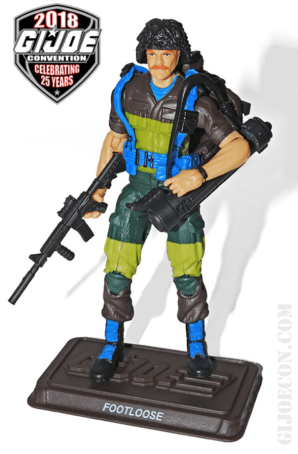 GIJoe Con 2018 Slaughter's Marauders Footloose