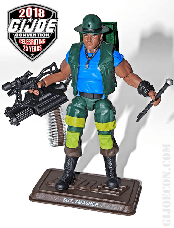 GIJoeCon 2018 Slaughter's Marauders Sgt Smasher front