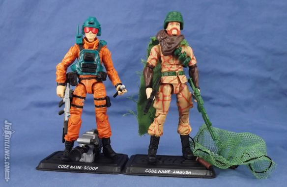 G.I. Joe FSS 5 Scoop & Ambush