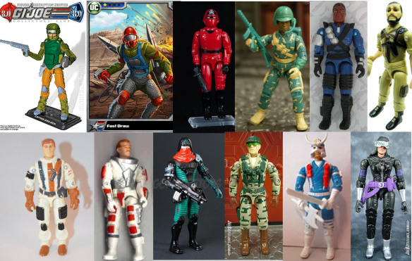 G.I. Joe Collector's Club FSS 8 roster