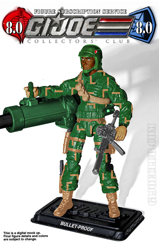 G.I. Joe Collector's Club FSS 8 Bullet-Proof