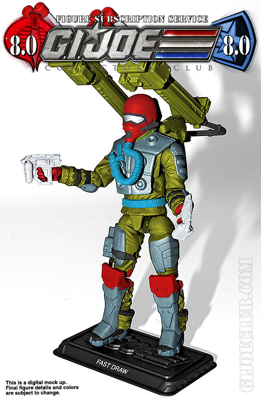 G.I. Joe Collector's Club FSS 8 Fast Draw