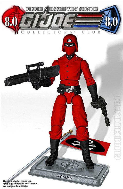 G.I. Joe Collector's Club FSS 8 Red Laser