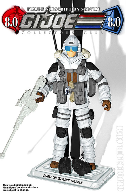 G.I. Joe Collector's Club FSS 8 Blizzard