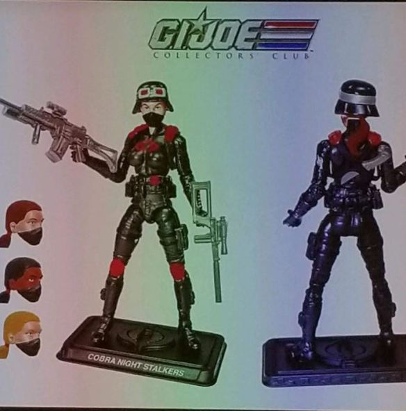 GIJoeCon 2018 night stalkers 3-pack