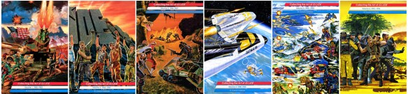 3DJoes Collecting the Art of G.I. Joe six volumes