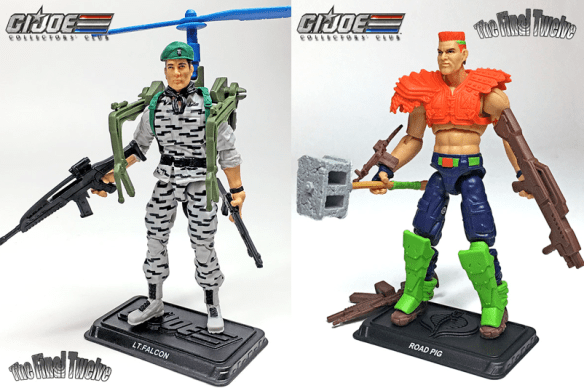 GI Joe Collector's Club Final Twelve Sonic Fighters Falcon Road Pig