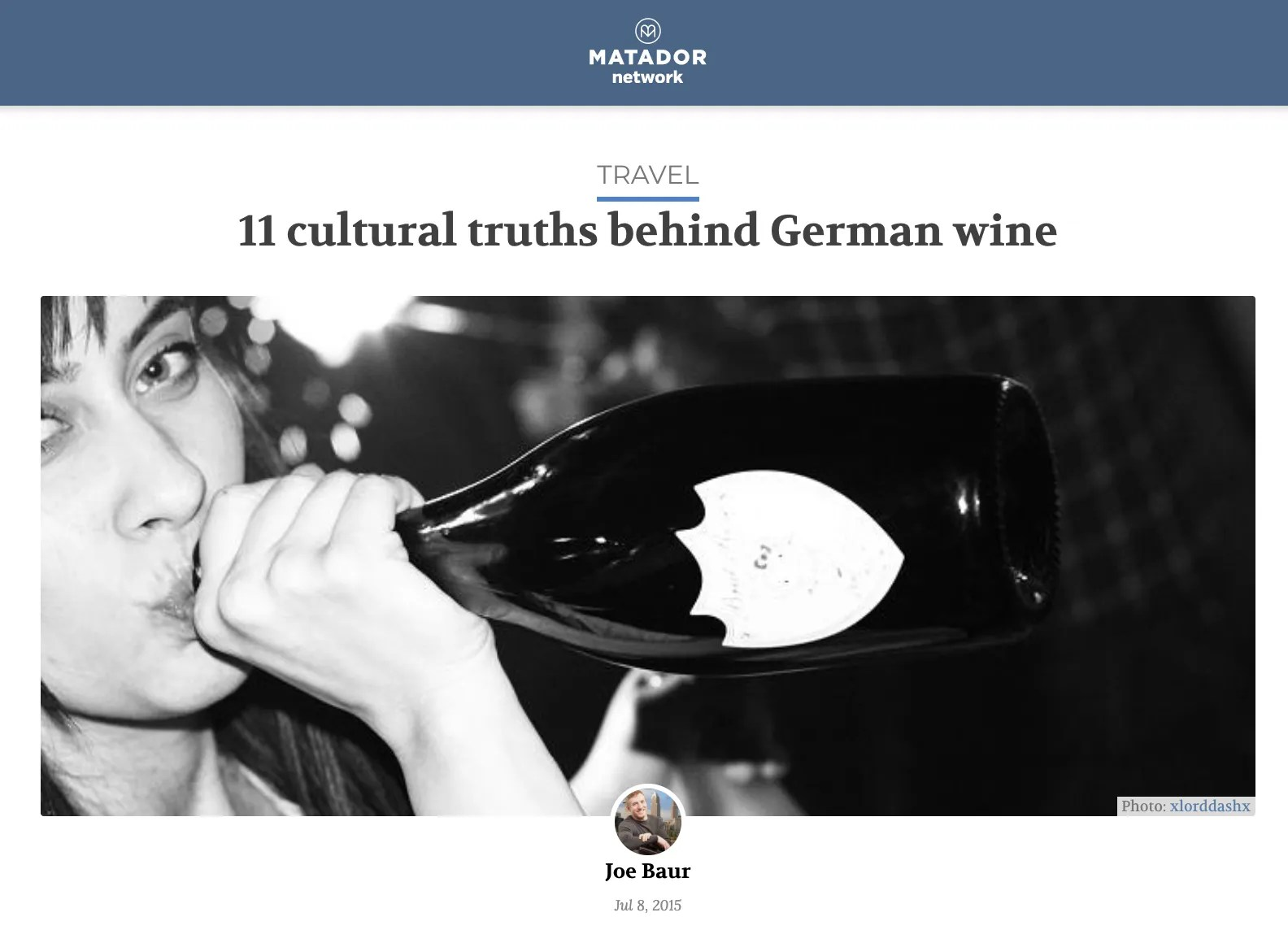 11 cultural truths behind German wine - Matador Network