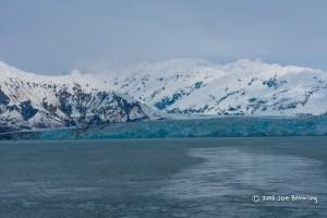 Leaving Hubbard Bay Glacier