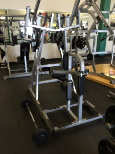 Here I added barbell front rows with isolated front pull-downs