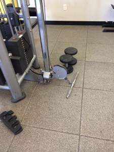 Here I combined cable curls with hammer curls