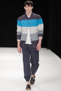 Block stripe shirt