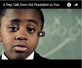 The First Entry in My Counseling Blog: Kid President