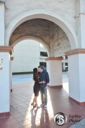 Santa Ana Train Station engagement photos 0005