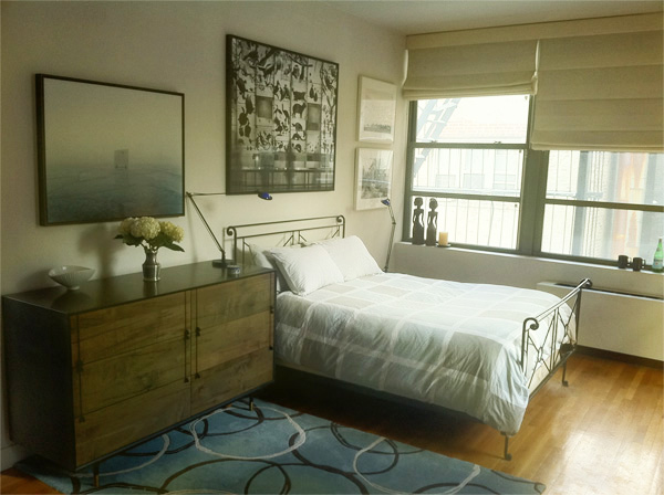 New York Interior Design NYC Joe Cangelosi West Village Loft Bedroom