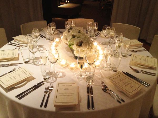 Interior Design New York NYC Joe Cangelosi Wedding Table Design 3