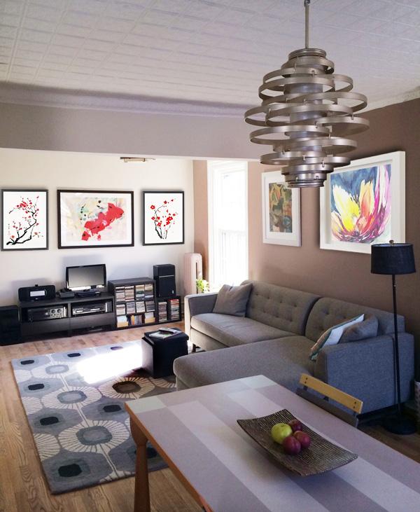 New York Interior Design NYC Joe Cangelosi Zen Modern Living Room Brooklyn