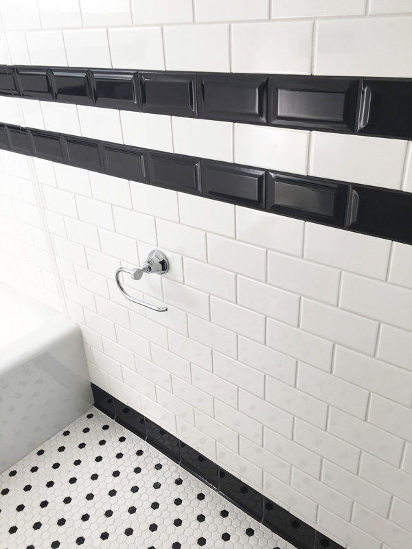 Interior Design New York Joe Cangelosi Bathroom Design Black and White