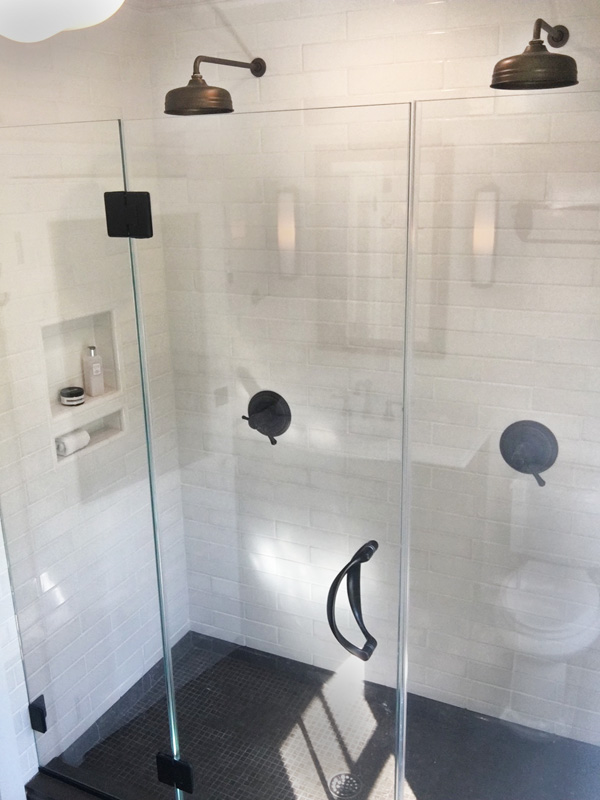 Interior Design New York Joe Cangelosi Bathroom Design Double Shower