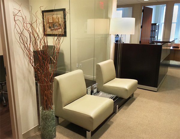 New York Joe Cangelosi NYC Office Design Lobby Seating