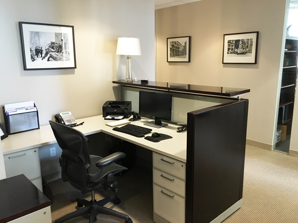 New York Joe Cangelosi NYC Office Design Admin Desk
