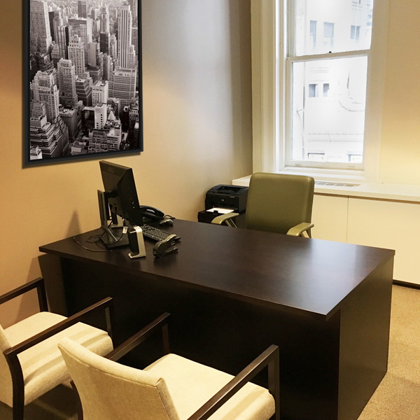 Interior Design New York NYC Joe Cangelosi Office Desk