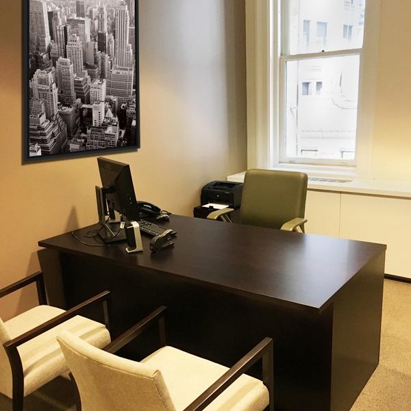Interior Design New York NYC Joe Cangelosi Office Desk
