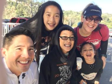 Lisa, Mia and my kids