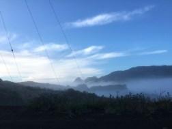 Fog, mist over Mulholland