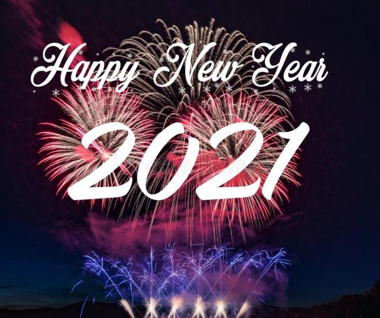 Happy New Year - 2021 is going to be a big improvement!