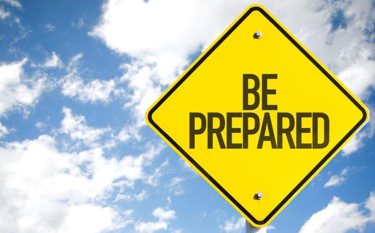 Be Prepared But Not Too Prepared Joe Connector