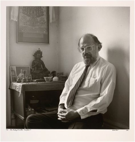 Allen Ginsberg Portrait