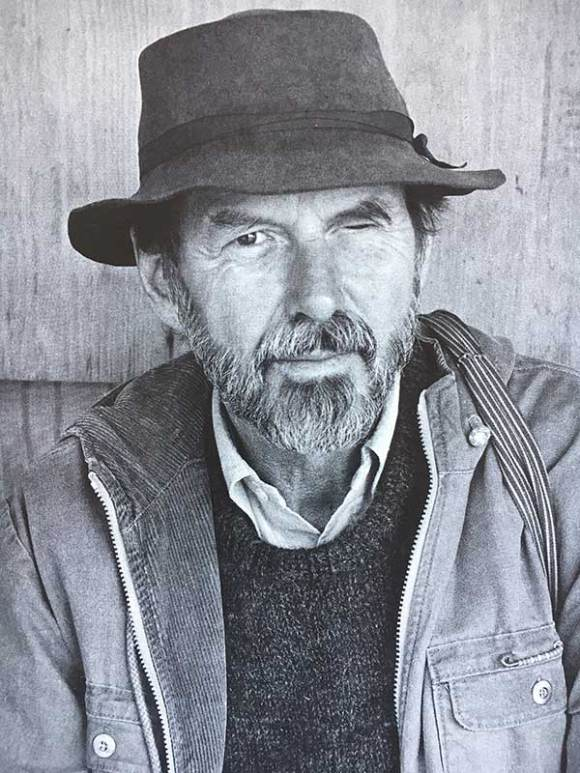 Robert Creeley Portrait