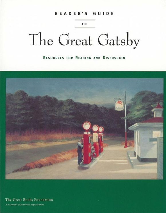Reader's Guide to Gatsby book cover