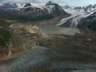Flying above Wrangell-Saint Elias